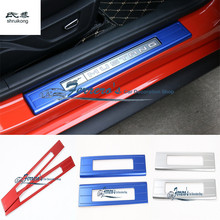 Free shipping 2pcs/lot car styling sticker Instrument panel decoration trim cover Sequins for 2015 2016 ford mustang(China)