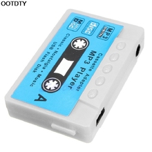 16GB Support USB Disk Cassette Flash MP3 Music Player Micro SD TF Card Earphone #L060# new hot