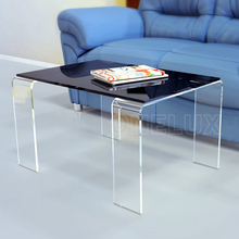 2017 ONE LUX NEW Plexiglass Acrylic Coffee/Tea Table,Lucite End/Side/sofa/magazine Tables KD PACKED