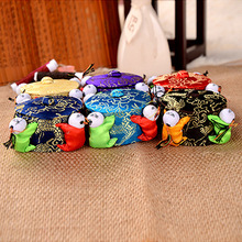 wholesale 10PCS Chinese HANDMADE Silk Sewing Tool vintage pin Cushion with 4 cute kids
