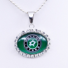 Necklace NHL Dallas Stars Charm Pendant Ice Hockey Jewelry for Women Gifts Party Birthday Wholesale 2017