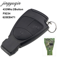 jingyuqin 433Mhz 2 Button Smart Remote Car Key Fob Mercedes Benz C E ML Class Sprinter Control Circuit Board Keyless