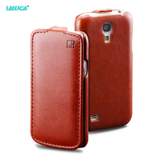 for samsung s4 mini case flip cover for samsung galaxy s4 mini i9190 i9192 i9195 imuca case mobile phone bag factory original(China)