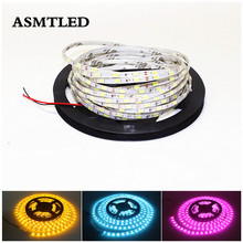 DC 12V SMD 5630 IP67 flexible Led Ultra fine Strip Light 60leds/m With 1m 5m White/Black PCB waterproof Stripe string lighting(China)
