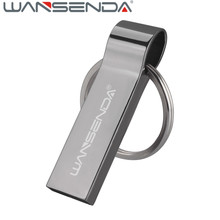 WSD-S401 64gb USB Flash Drive with key chain 128gb pen drive usb flash memory 32gb Pendrive free ship usb 2.0 usb memory stick