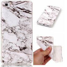 Phone Cases For Huawei P8lite Case Marble Stone image Painted Cover Mobile Phone Bags & Case For Huawei P8 lite
