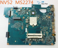 MBWDJ01001 For Gateway NV52 MS2274 Laptop Motherboard SJV50-PU 08260-1M 48.4BX04.01M Mainboard 100%tested fully work