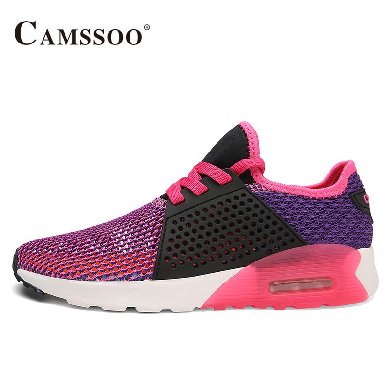 Running shoe sole print