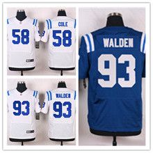 Mens 93 Erik Walden Jersey 2017 Rush Salute to Service High Quality Football Jerseys(China)
