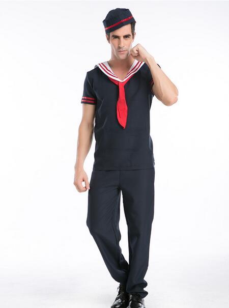 halloween costume for men sailor cosplay costume men party costumes sailor cosplay costume