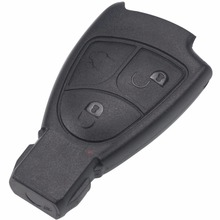 Replacements 3 Buttons Remote Key Fob Case Cover Shell For Mercedes For Benz B C E ML S CLK CL 3B 3BT Smart Key