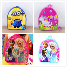 Small backpack schoolbag cartoon princess pattern Mickey children child Christmas gift birthday giftnew Year's gift(China)