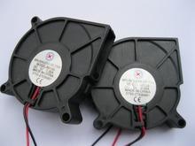 20 pcs Brushless DC Cooling Blower Fan 6015S 5V 60x60x15mm 2 Wires(China)