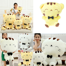1 Pcs Kawaii Cat Plush Cushion Bed Sofa Room Decor 32cm Large Face Cat Stuffed Toys Pillow Childen Toys Girls Gift