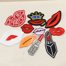 2016year New arrival mixed 20 pcs popular Embroidered patches iron on cartoon Motif DIY Applique embroidery accessory(China)