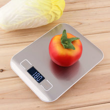 2017 Newest Stainless Steel 11lb x 0.05oz Slim LCD Digital Kitchen Scale 5Kg 1g Weight Food Diet / Readability - Alive Life Shopping Shop Store store
