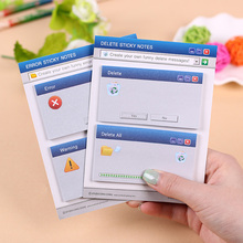 120 Pages/2 Set Cute Computer System Shape Memo Pad Diy Sticker Diary Stationary Set Kawaii Stickers Post It Office Supplies