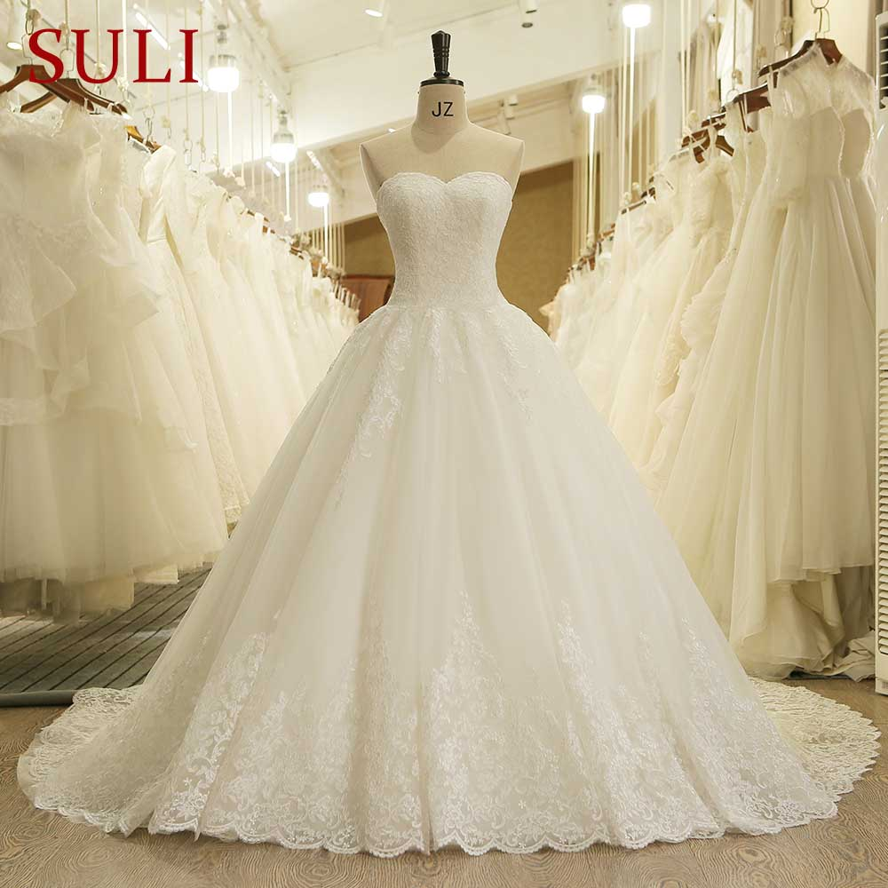 HW091 Charming Sweetheart Applique Lace Vintage Bridal Wedding Dress 2017 Princess Wedding Dresses Turkey(China (Mainland))