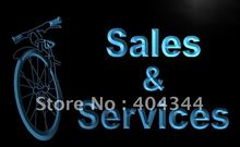 LB727- Bicycle Motor Bike Services LED Neon Light Sign(China)