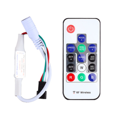 Led RGB Controller 300 kinds of changes Wireless RF Digital Color LED Strip led Light for WS2812B WS2813 DC 5V(China)