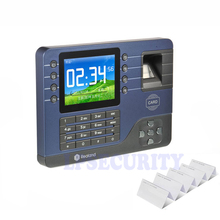 Realand A-C091 Fingerprint Attendance Machine Time Clock Employee Checking-in Reader with 10pcs ID cards(China)