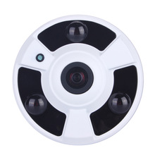 NVP2431H+H81 DSP 960P 2500TVL High Resolution  5MP 1.7mm Lens Fish Eye 3pcs Powerful Array Panoramic AHD Camera