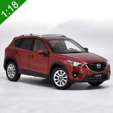 High simulation NEW 1:18 MAZDA CX-5 SUV Alloy Car Model Metal Die cast Car For Baby Birthday Gifts Toys Collection Original Box