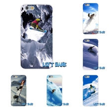 For Samsung Galaxy Note 3 4 5 S4 S5 MINI S6 S7 edge Snow Or Die Ski Snowboard Soft Silica Gel TPU Phone Case Silicone Cover