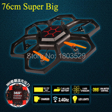 New arrival Hot Sell Super Big X42 2.4G RC Helicopter 6-Axis GYRO Ar.Drone Quadcipter RC model plane for kids&adult as gift(China)