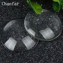 50mm Big Round Magnifying Clear Glass Domed Cabochons(China)