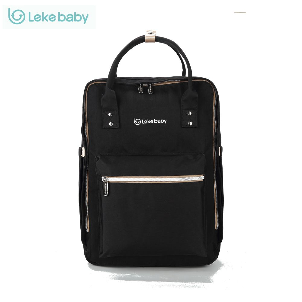 Lekebaby Fashion Mom Maternity Bag Diaper Bag Large Capacity Baby Care Nappy Changing Bag Travel Backpack <br>