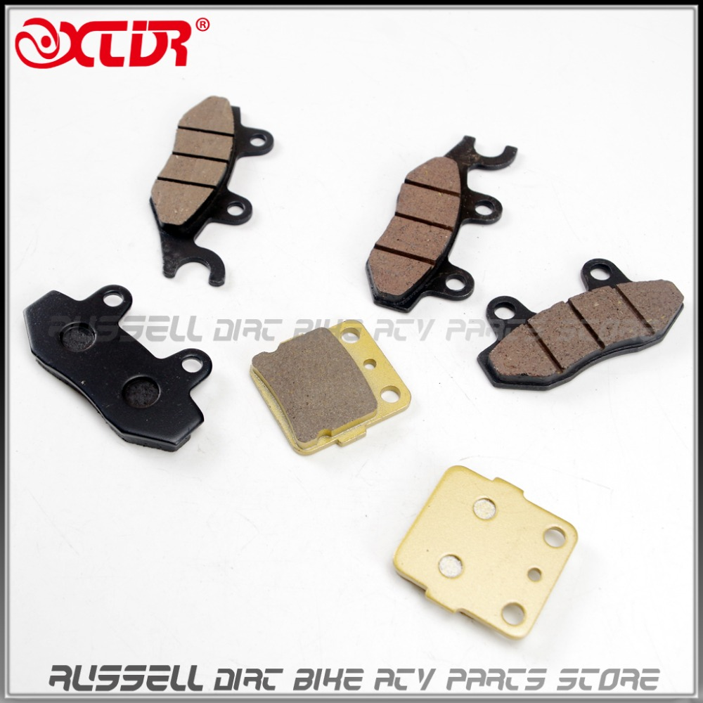 Front Rear brake PADS FOR  Yamaha YFZ450 YFZ 450 Quad 2006-2010<br><br>Aliexpress