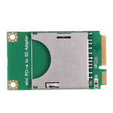 Mini PCI-E to SD Card Adapter USB 2.0 SD/MMC Flash Card Reader 480Mbps for Laptop Computer External Drive