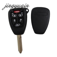 jingyuqin Key Shell fit for CHRYSLER Town & Country Grand Caravan Sebring DODGE JEEP Remote 6 Buttons Replacement