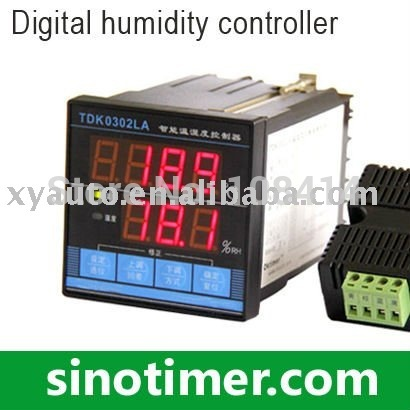 FREE shipping 1PCS Digital Temperature and Humidity Controller with sensor In Stocks<br>