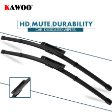 "KAWOO Car Wiper Blade For Renault Scenic 2, 26""+22""(2005-2009) Windcreen Wiper Blades Soft Rubber Strip Auto Accessories Styling"