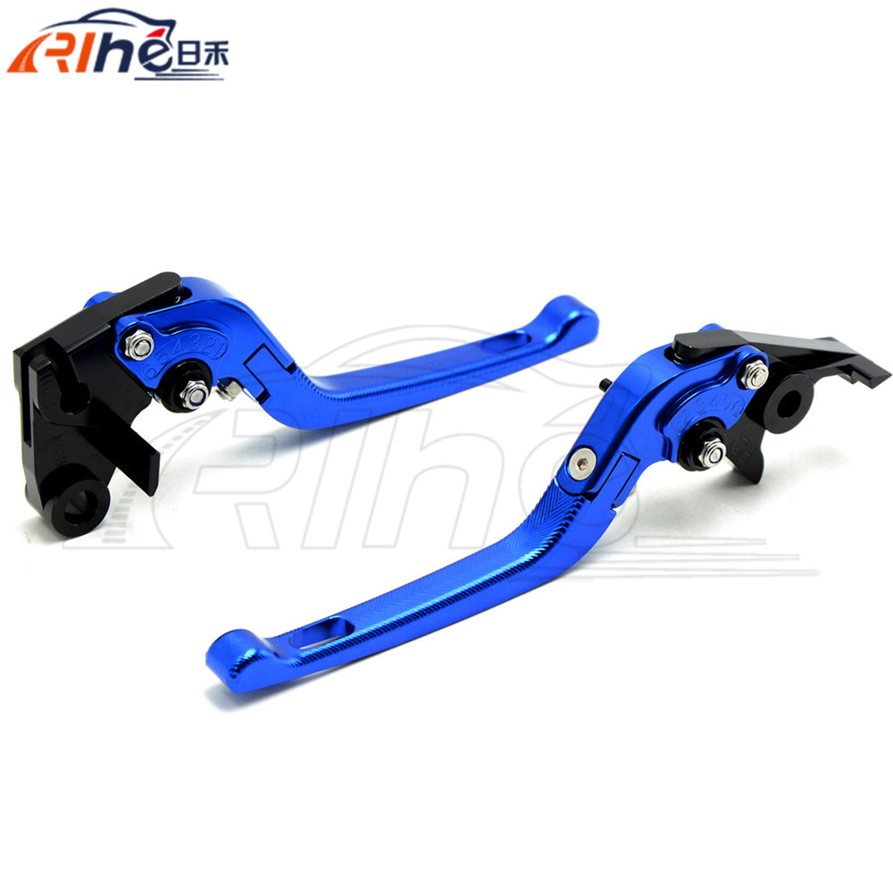3D Foldable Motorcycle Brake Clutch Levers Blue Clutch Brake Lever For Honda CBR500R CB500F X 2013 2014 2015<br>