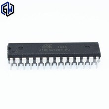 50pcs/lot ATMEGA328P-PU CHIP ATMEGA328 Microcontroller MCU AVR 32K 20MHz FLASH DIP-28