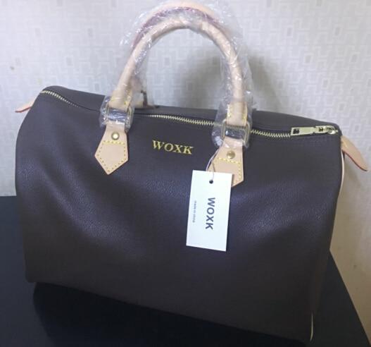 Hot selling !!! 2017 new fashion women handbag speedy bag 30/35cm without starp FREE SHIPPING<br>