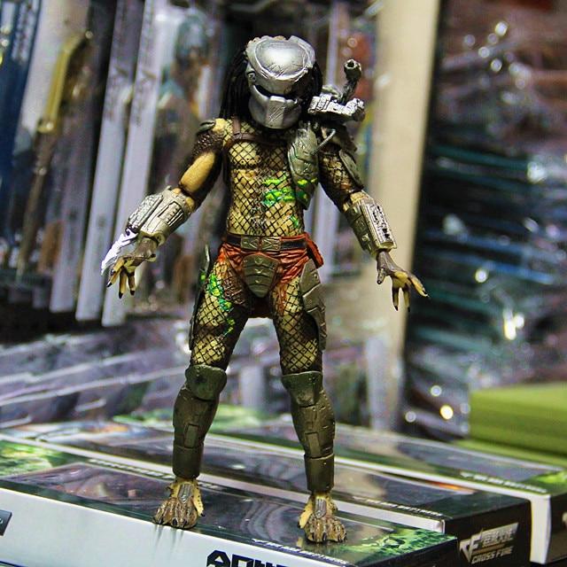 Movie Predator Series 2 Classic Predator Version Battle Damage One Eye NECA Action Figure Toy 18cm PVC Free Shipping<br><br>Aliexpress