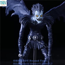 OHMETOY Death Note L Killer Ryuuku Ryuk Deathnote Action Figure Toys Boy Birthday Gift 24cm Height Juguetes Anime Brinquedos(China)
