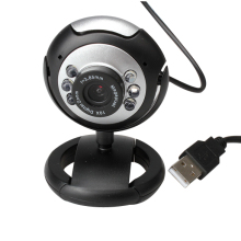 New 8.0 Mega 30 M USB 6 LED Webcam Web Cam Camera Laptop Computer With Mic