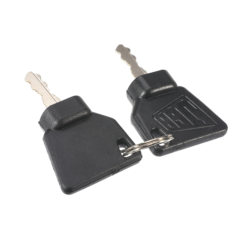 2 Pcs Ignition Start Key Switch Starter key For JCB 3CX Excavator Most JCB Machine Digger Replacement Parts(China)