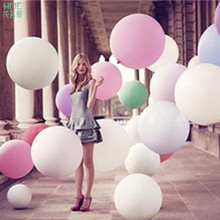 18inch 10pcs/bag Extra Large Thicker Latex Balloon Helium Balloon Party Large Balloon Wedding Party Hotel Balloon Decoration