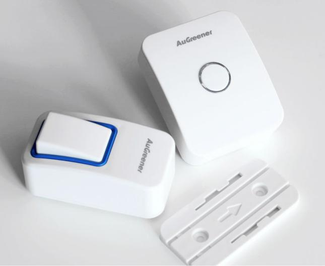 AC240V Battery-wireless wireless door bell with loud sound  25 chimes.120m waterproof  doorbell for 10years.elderly pager<br>