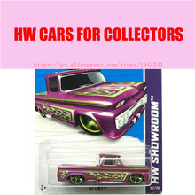 2013 New Hot Wheels 1:64 Purple truck car Models Metal Diecast Car Collection Kids Toys Vehicle Juguetes(China)
