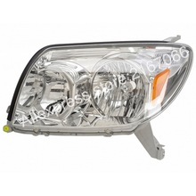 Headlights Left for TOYOTA HILUX / SURF 2002 2003 2004 2005 Head Lamp Driver Side(China)