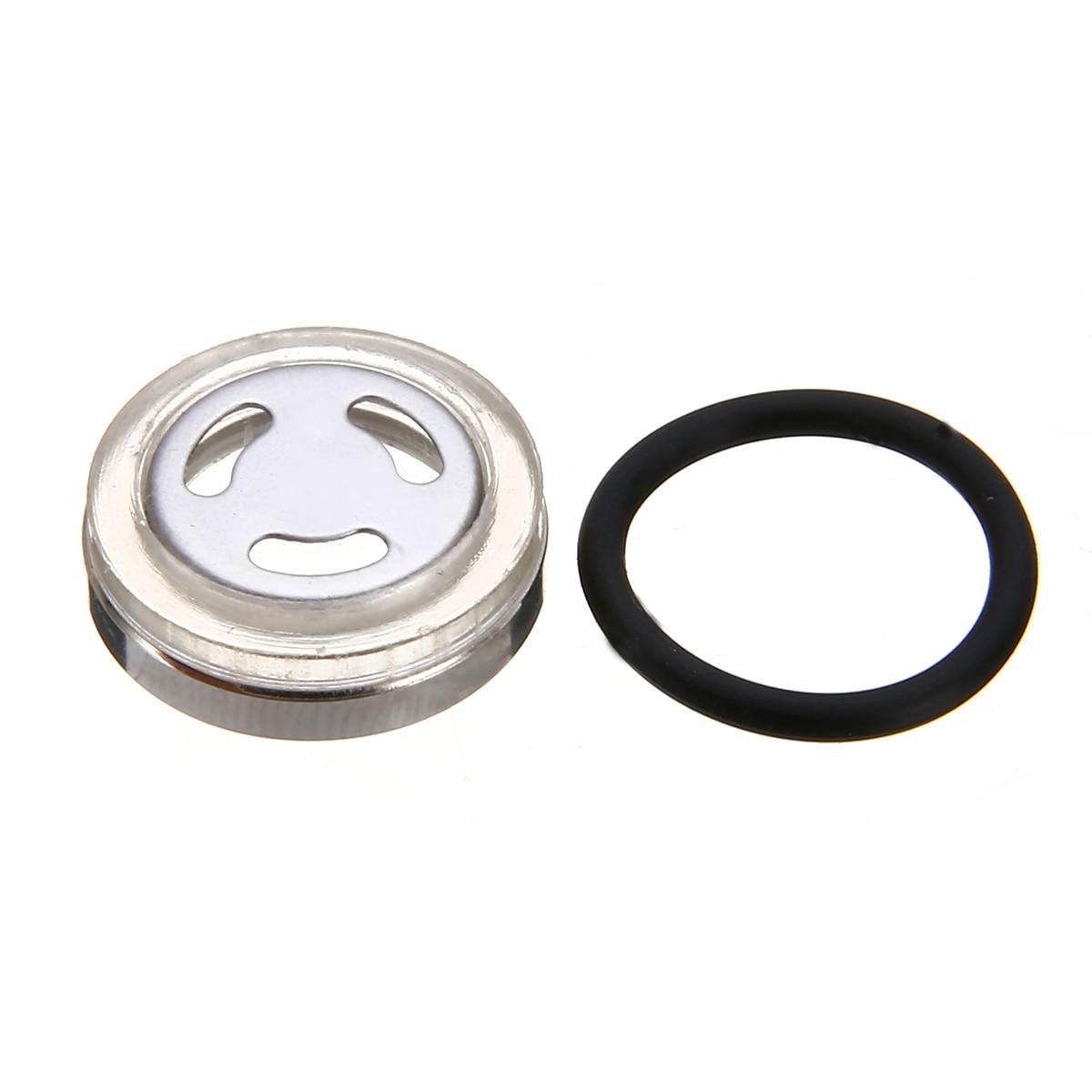 For Honda Suzuki Kawasaki 1pc 18mm Universal Motorcycle Brake Master Cylinder Reservoir Sight Glass Lens + Gasket Mayitr