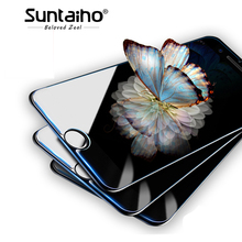 Buy Suntaiho 2.5D Tempered Glass 9H iPhone X 8 7 6 6s Plus 6 6s 5 5s Premium Ultra-thin Screen Protector for $1.34 in AliExpress store