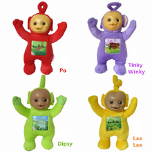 4pcs/set 33cm Teletubbies Baby Plush Toys Dolls High Quality 3D Lovely Toy For Children Kids Christmas Gifts Free Shipping